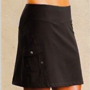 Athleta Black A Line Skirt TALL